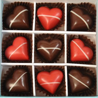 Lovers 9 Chocolate Gift Boxes